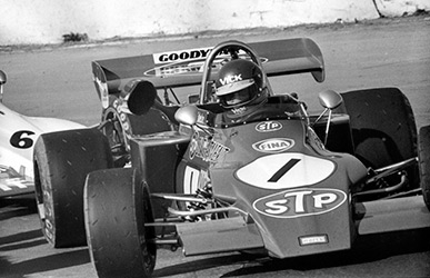 Ronnie Peterson, March, 1972 European Trophy meeting, Mallory Park