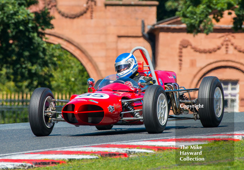 Iain Rowley, Assegai F1, HGPCA Race For Pre 1966 Grand Prix Cars, 2016 Gold Cup, Oulton Park.