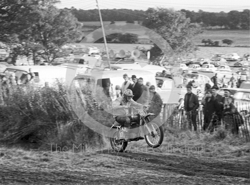 Motocross event at Hawkstone Park, August 1968.