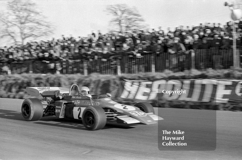 Niki Lauda, March 722-5, round 1 of the Formula 2 Championship, Mallory Park, March 12, 1972.