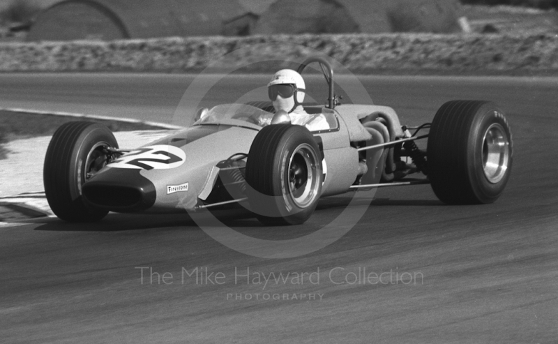 Malcolm Guthrie, Frank Williams Racing Brabham BT23C, Thruxton, Easter Monday 1969.