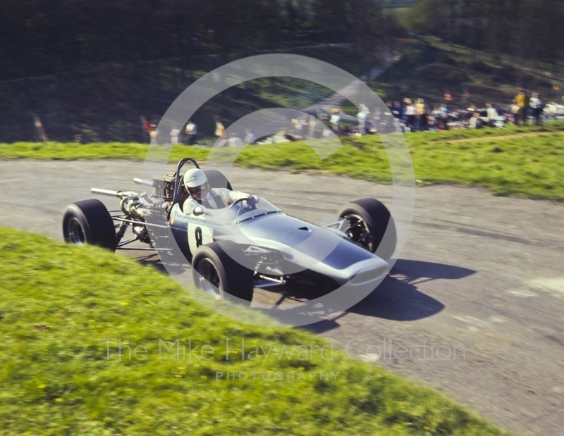 Peter Blankstone, Brabham Quattro Oldsmobile, 39th National Open meeting, Prescott Hill Climb, 1970.
