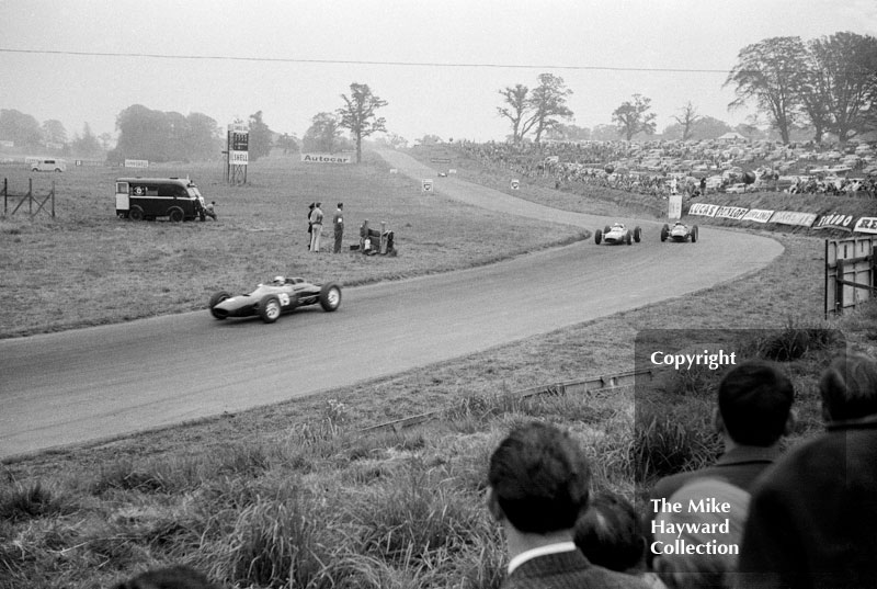 Mike Hailwood, Reg Parnell Lola Mk4 Climax, Oulton Park, 1963 Gold Cup.
