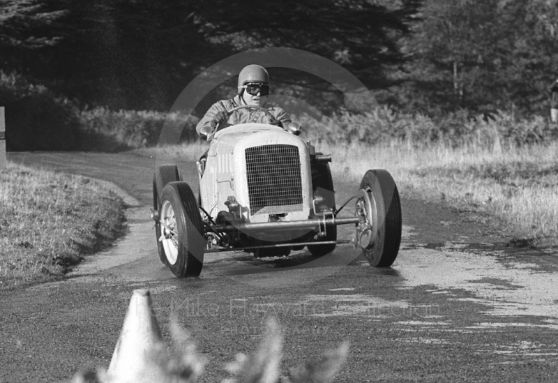 Guy Smith, Frazer Nash, Loton Park Hill Climb, 1967.