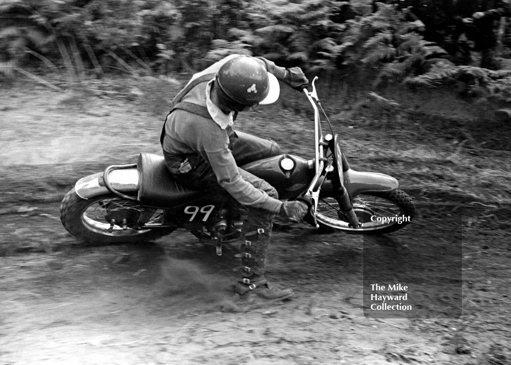 Alan Clift, Cotton 250, Invitation Race, 1964 Motocross des Nations, Hawkstone Park.