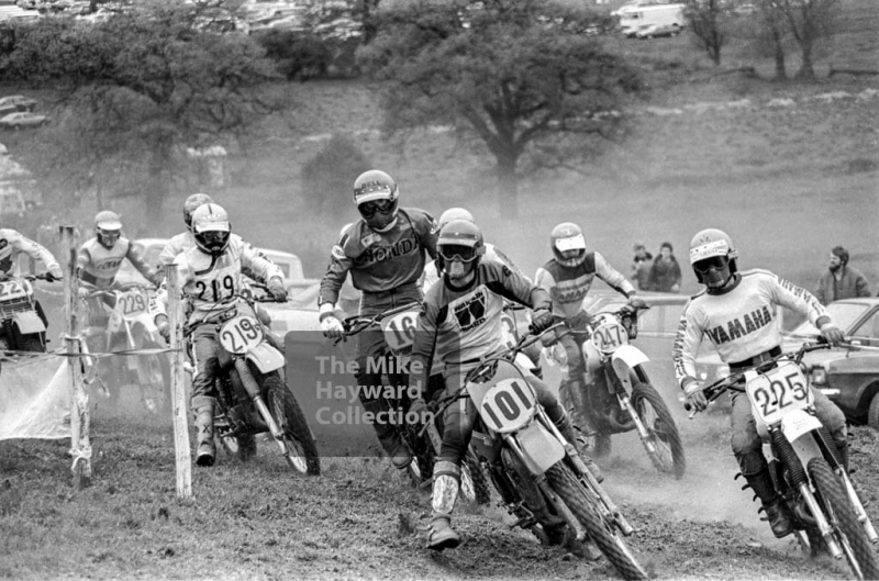 Motorcycle scramblers, Sutton Nomads' motocross, Dosthill, Tamworth.