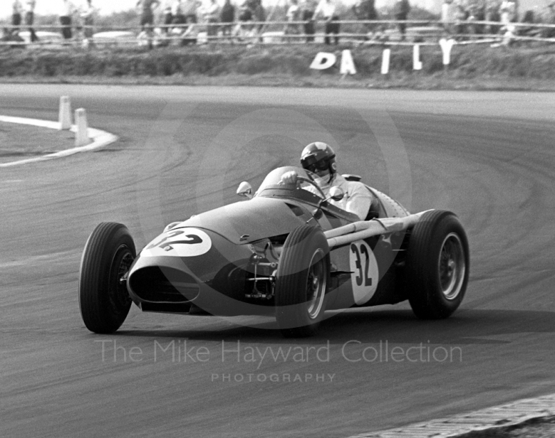 Colin Crabbe, Maserati 250F, AMOC Historic Race, Martini Trophy meeting, Silverstone, 1970.