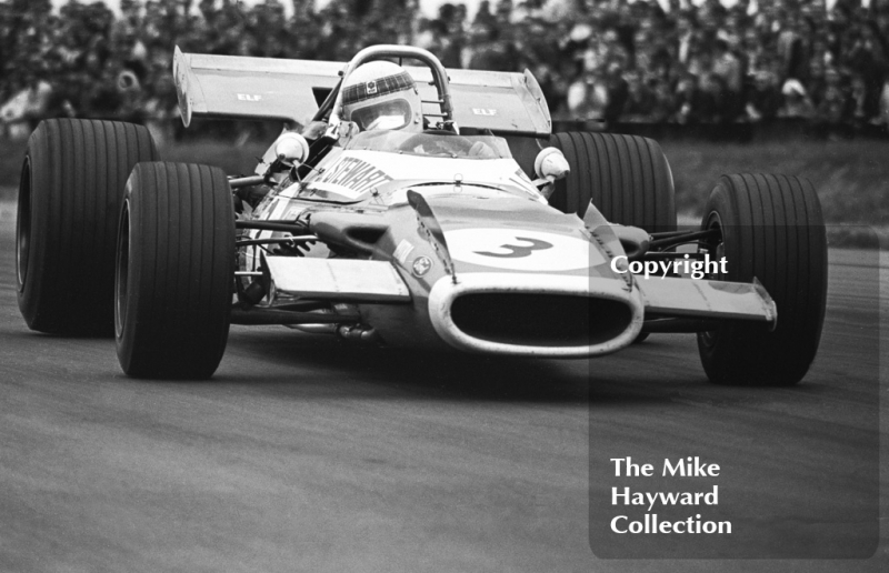 Jackie Stewart, Matra Ford MS80-01, Silverstone, 1969 British Grand Prix.