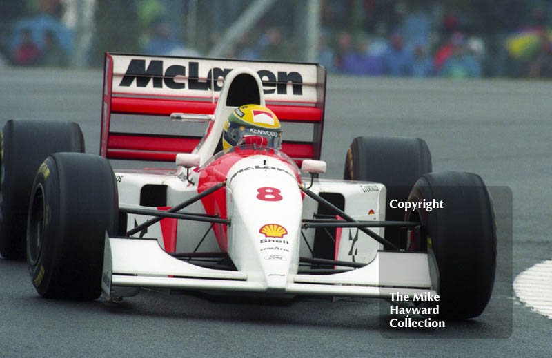 Ayrton Senna, McLaren MP4/8, European Grand Prix, Donington, 1993