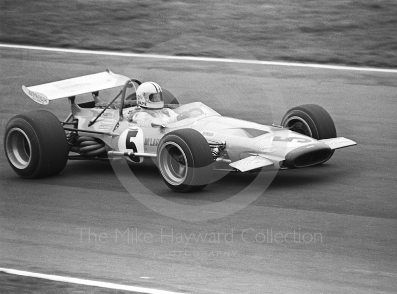 Denny Hulme, McLaren M14A, Formula One Race of Champions, Brands Hatch, 1970