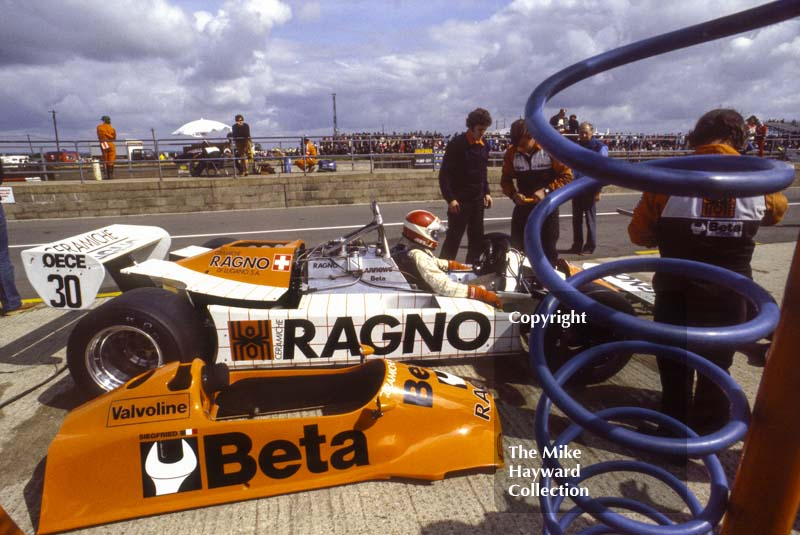 Siegfried Stohr, Arrows A3, Silverstone, 1981 British Grand Prix.