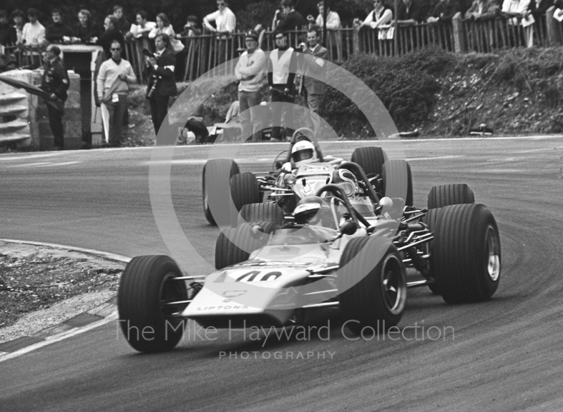 Sten Axellson, Lotus 59, Brands Hatch, British Grand Prix meeting 1970.