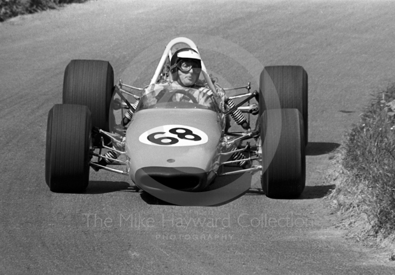 John Cussins, Tech Craft Buick, Shelsley Walsh Hill Climb June 1970.