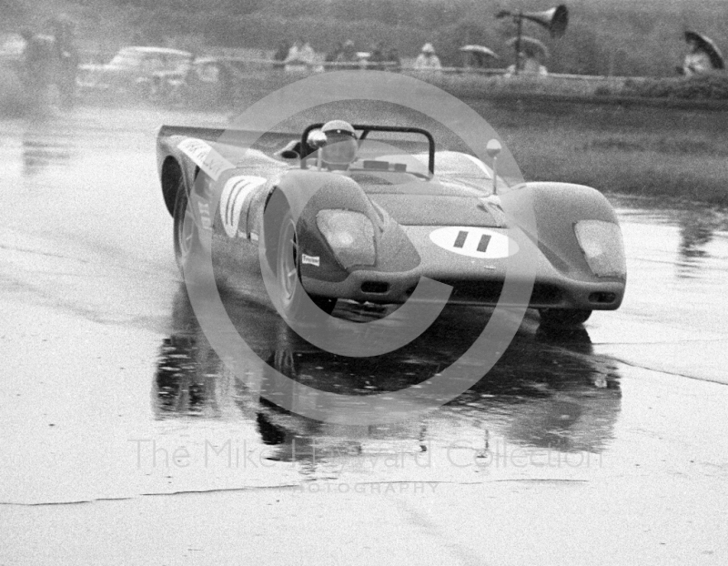 Max Wilson, Lola T70, 1969 Martini International Trophy.