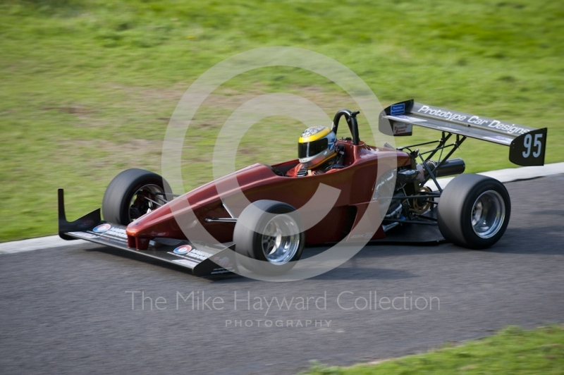 Steve Marr, PCD Saxon, Hagley and District Light Car Club meeting, Loton Park Hill Climb, September 2013.