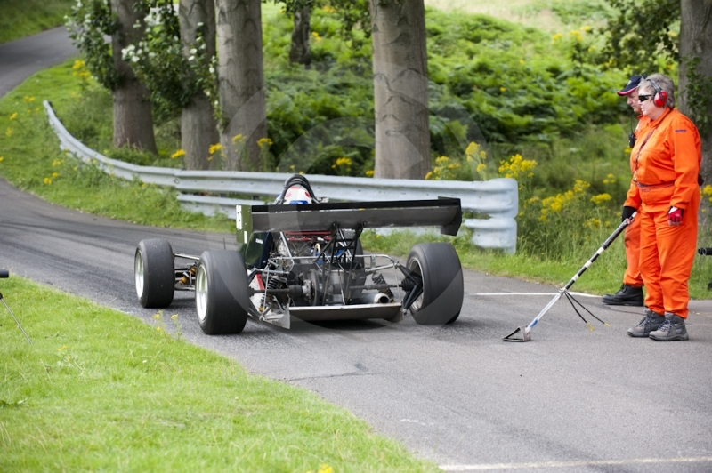 Keith Weeks, Image FF5, Hagley and District Light Car Club meeting, Loton Park Hill Climb, August 2012.