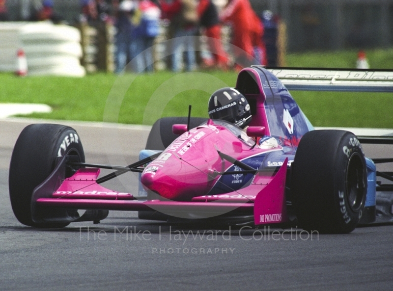 Damon Hill, Brabham Judd BT60B, 1992 British Grand Prix, Silverstone