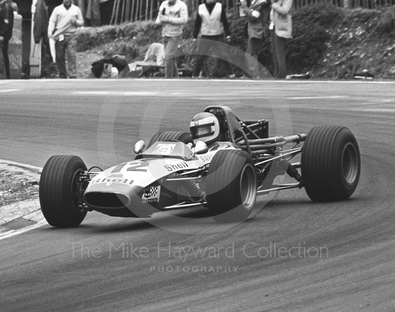 Roger Enever, Brabham BT28, Brands Hatch, British Grand Prix meeting 1970.