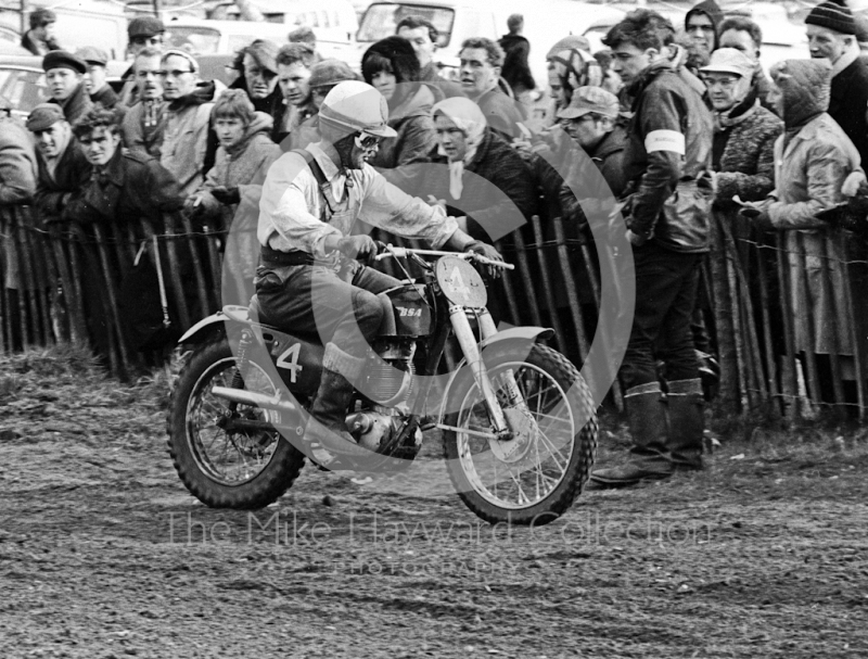 Jeff Smith, BSA, 1966 ACU Championship meeting, Hawkstone