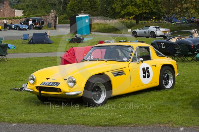 Neil Hastle, TVR Vixen, Hagley and District Light Car Club meeting, Loton Park Hill Climb, August 2012.