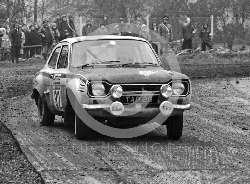 Paul Appleby/Keith O'Dell, Ford Escort, TAP 2G, 1974 RAC Rally