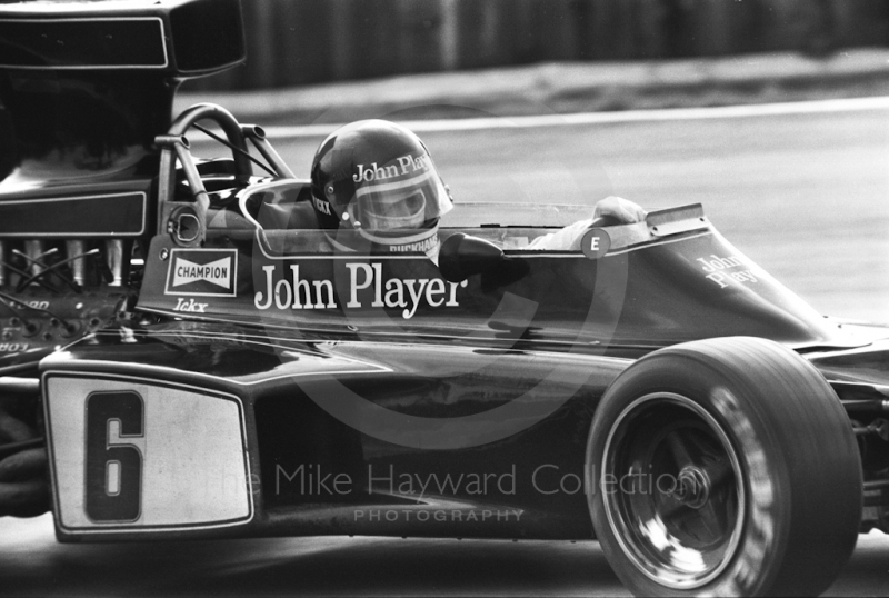 Jacky Ickx, John Player Special Lotus 72E, Brands Hatch, Race of Champions 1975.