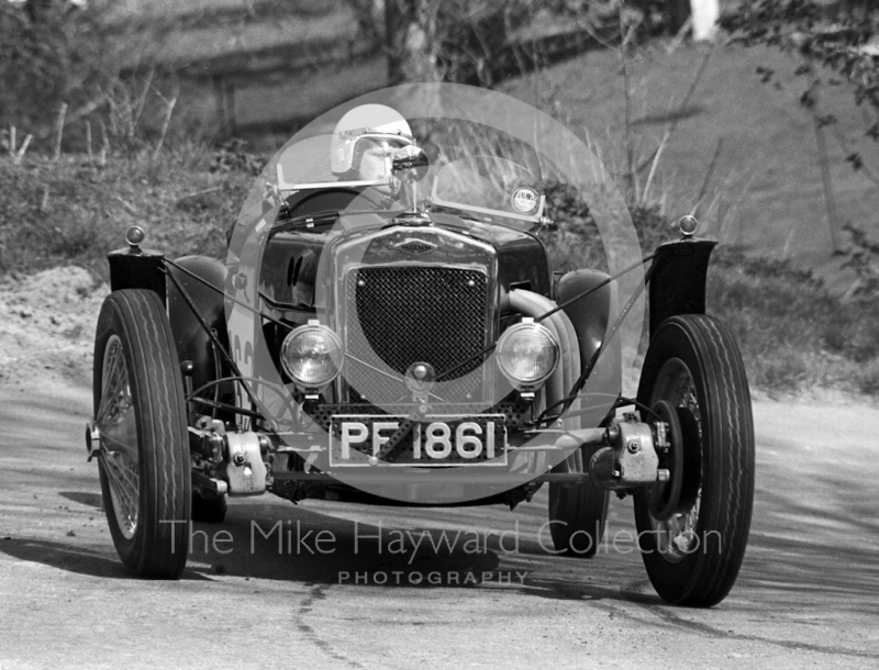 Brian Gillard, Frazer Nash Meadows, 39th National Open meeting, Prescott Hill Climb, 1970.