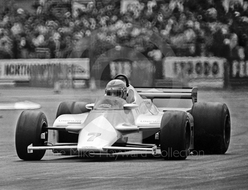 Winner John Watson, Marlboro McLaren MP4, Silverstone, British Grand Prix 1981.