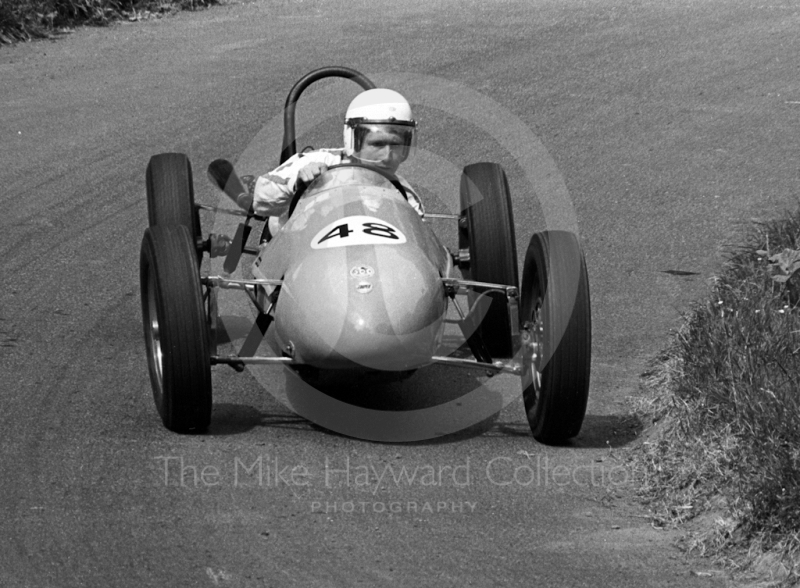 A Cooper at the esses, Shelsley Walsh Hill Climb June 1970.