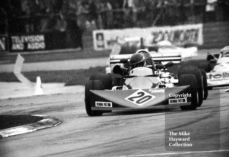 Ray Mallock, Ardmore March 742, 1975 European Race, Silverstone.