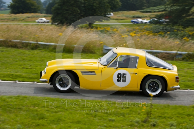 Neil Hastle, TVR Vixen, reg no KTW 168J, Hagley and District Light Car Club meeting, Loton Park Hill Climb, August 2012.