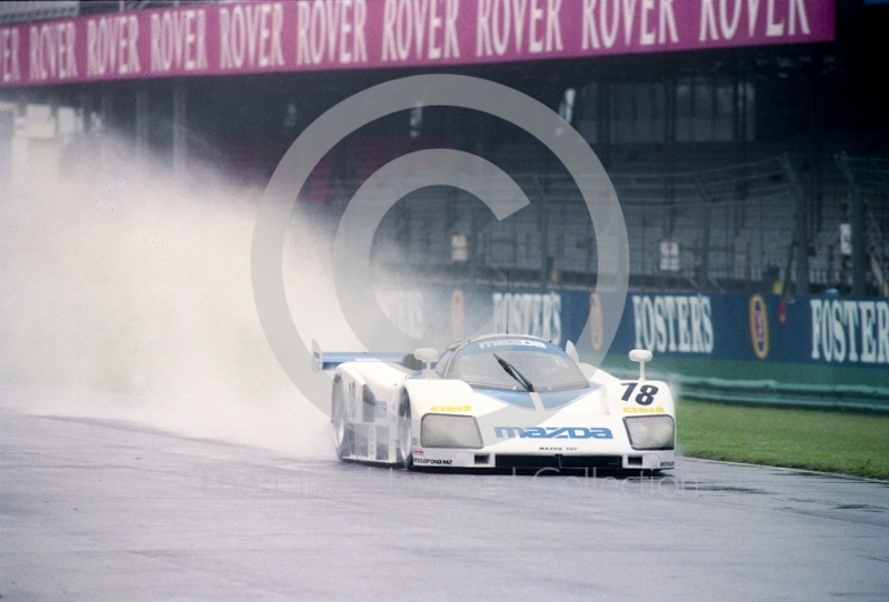 David Kennedy, Mazda 787, Castrol BRDC Empire Trophy, World Sports Car Championship, Silverstone, 1991.