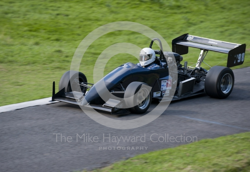 Simon Andrews, OMS 2000M, Hagley and District Light Car Club meeting, Loton Park Hill Climb, September 2013.