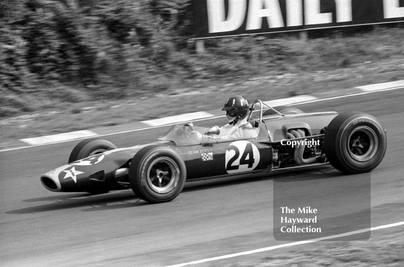 Graham Hill, Lotus 48 Cosworth (R48-2), Guards European F2 Championship, Brands Hatch, 1967