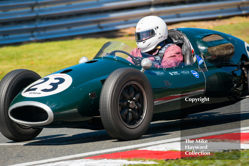 Andrew Smith, Cooper T43, 2016 Gold Cup, Oulton Park.
