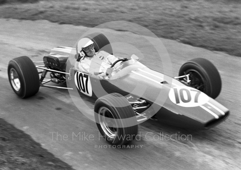 Tony Griffiths, Brabham BT21A Ford, 37th National Open meeting,  Prescott Hill Climb, 1969.