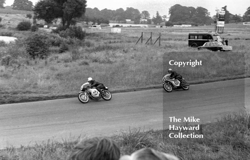 Motorcycles, Oulton Park, 1964.