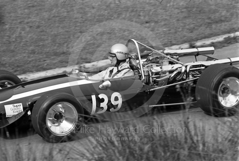 Martin Brain, Golden Knight Racing Cooper Chrysler 7.2, Prescott, September, 1968, 2nd in class