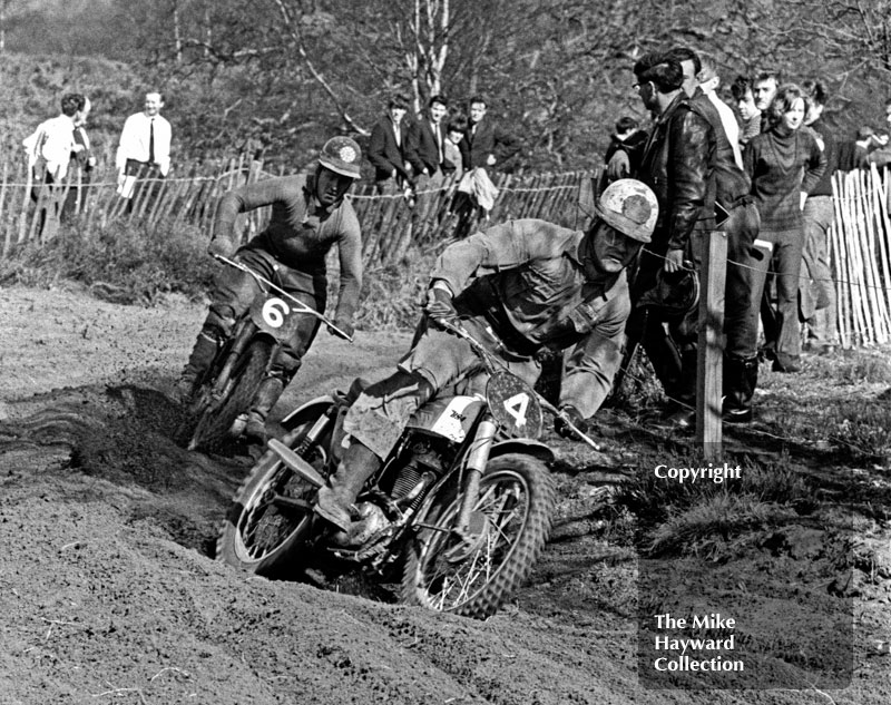 Jeff Smith, BSA, Hawkstone 1965.