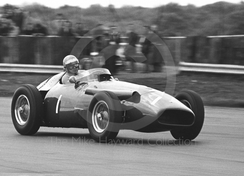 Neil Corner, Maserati 250F, Silverstone Super Sports 200 meeting 1972.