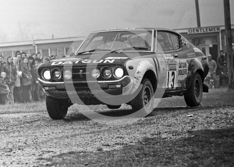 Harry Kallstrom/Claes Billstam, Datsun Violet, 86 34, 1974 RAC Rally