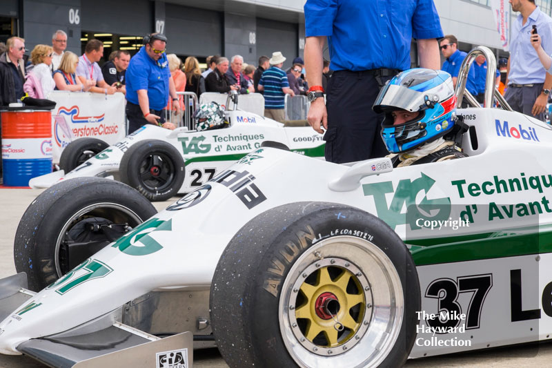 Christophe d'Ansembourg, Williams FW07, Mike Wrigley, Williams FW07, 2016 Silverstone Classic.