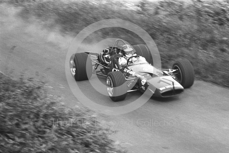 David Good, McLaren M10B, Shelsley Walsh Hill Climb June 1970.