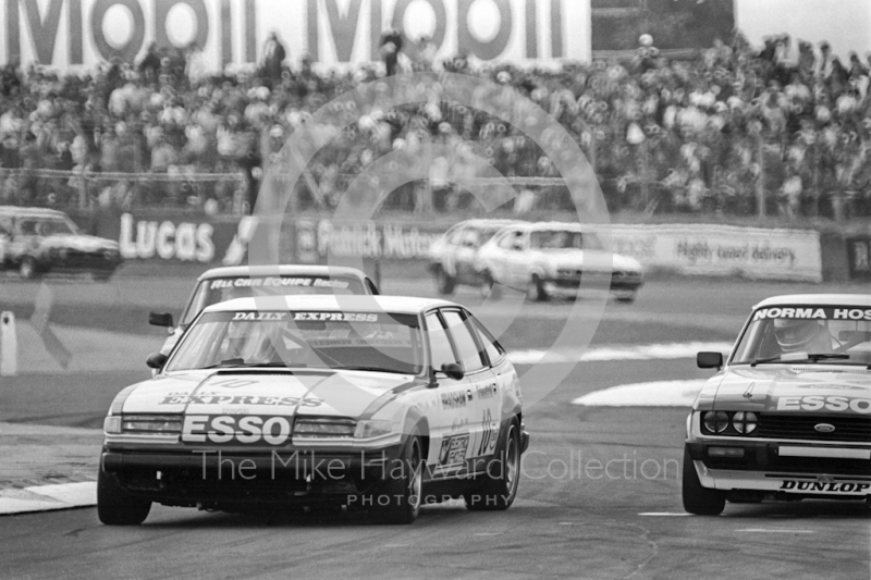 Peter Lovett, Daily Express Rover 3500 V8, British Touring Car Championship round, 1981 British Grand Prix, Silverstone.