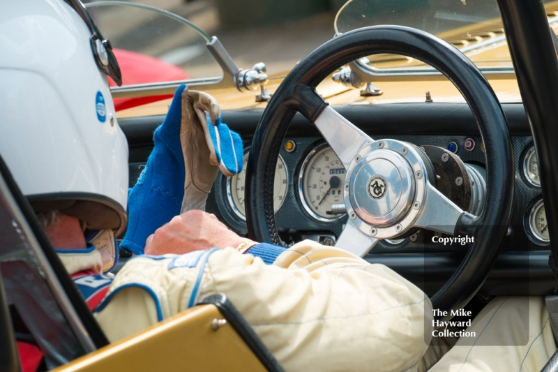 Ready for the start, Shelsley Walsh, Shelsley Walsh Hill Climb, June 1st 2014.
