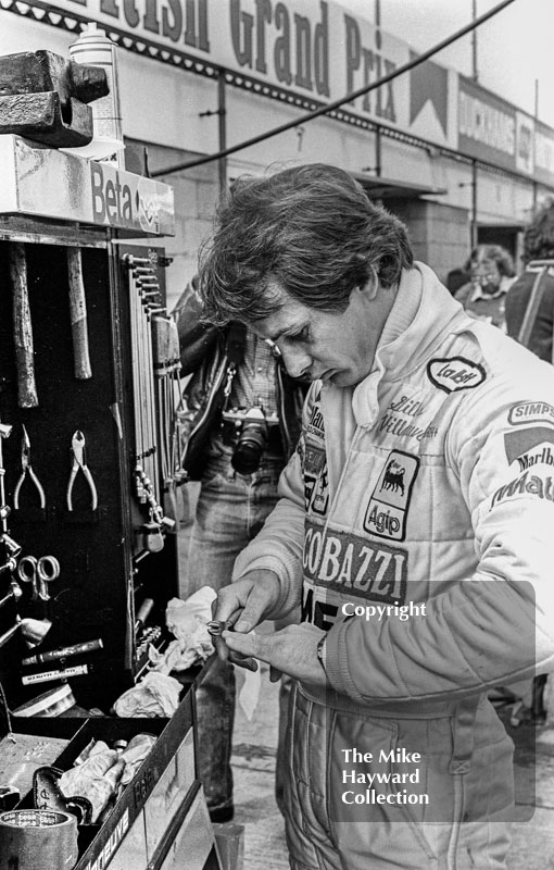 "<span style=""font-size: 13px;"">Gilles Villeneuve uses a pair of mechanic's pliers to trim<span style=""font-size: 13px;"">&nbsp;his fingernails,<span style=""font-size: 13px;"">&nbsp;Silverstone, British Grand Prix 1979."