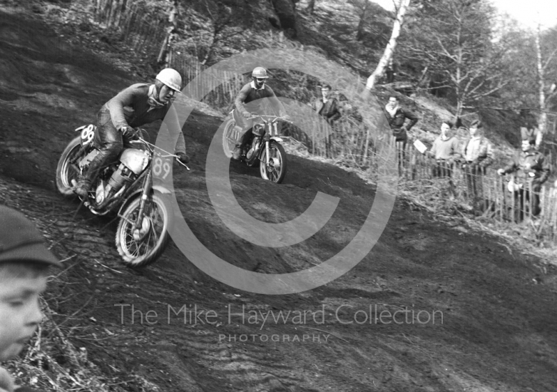 Motocross event at Hawkstone, Shropshire, in 1963.