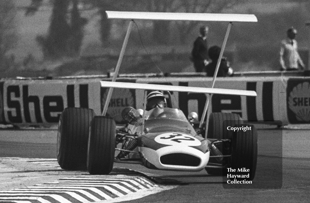 Peter Westbury, FIRST Brabham BT30, Thruxton, Easter Monday 1969.