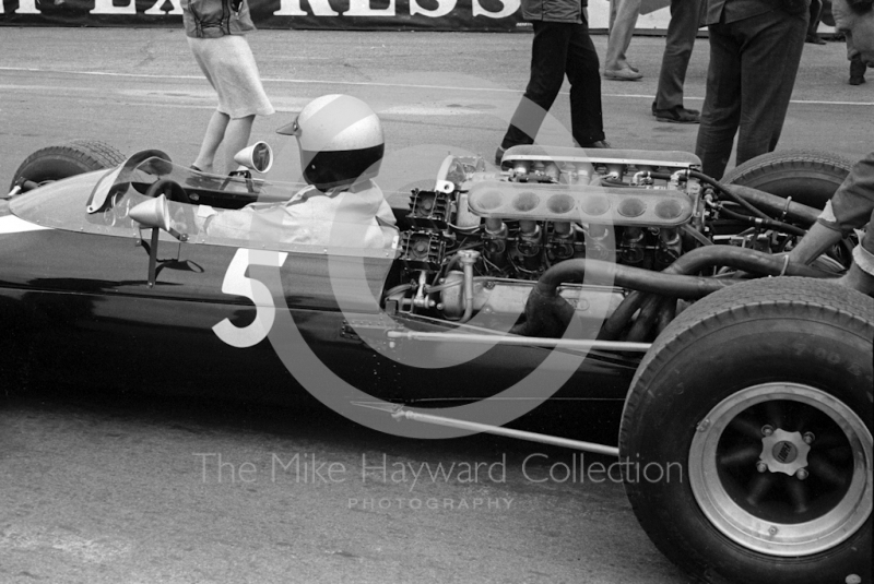 Richie Ginther, Cooper Maserati V12 T81, Silverstone International Trophy, 1966.