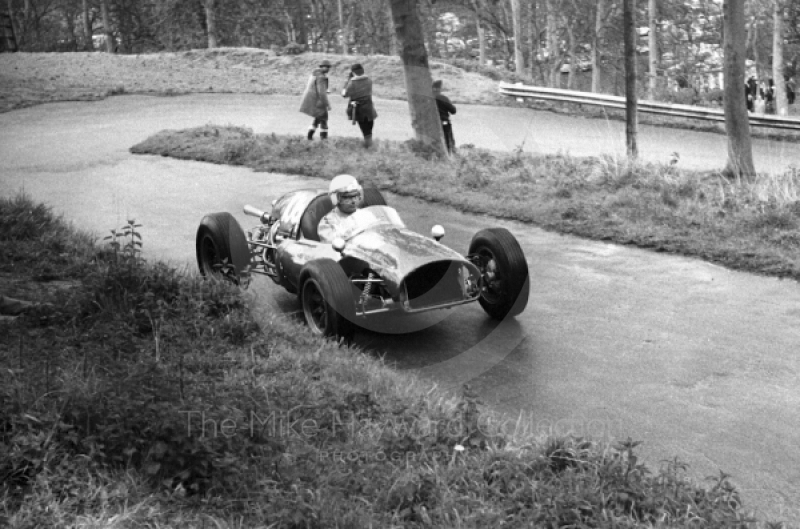 Martin Brain, Cooper, Newton Oil Trophy Meeting, Prescott Hill Climb, September 1967.